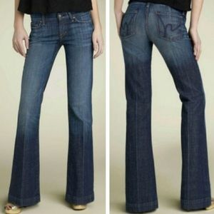 Citizens of Humanity Dunaway Full Leg Jeans